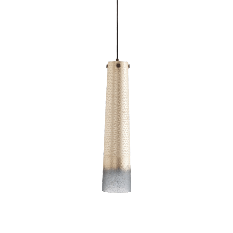 Arteriors // Bilbao Fishtail Hand Etched Pendant Light