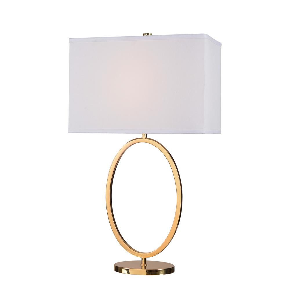 Kenroy Home Oke 30 5 In Table Lamp With White Shade Table Lamp Table Lamp Base Fabric Shades