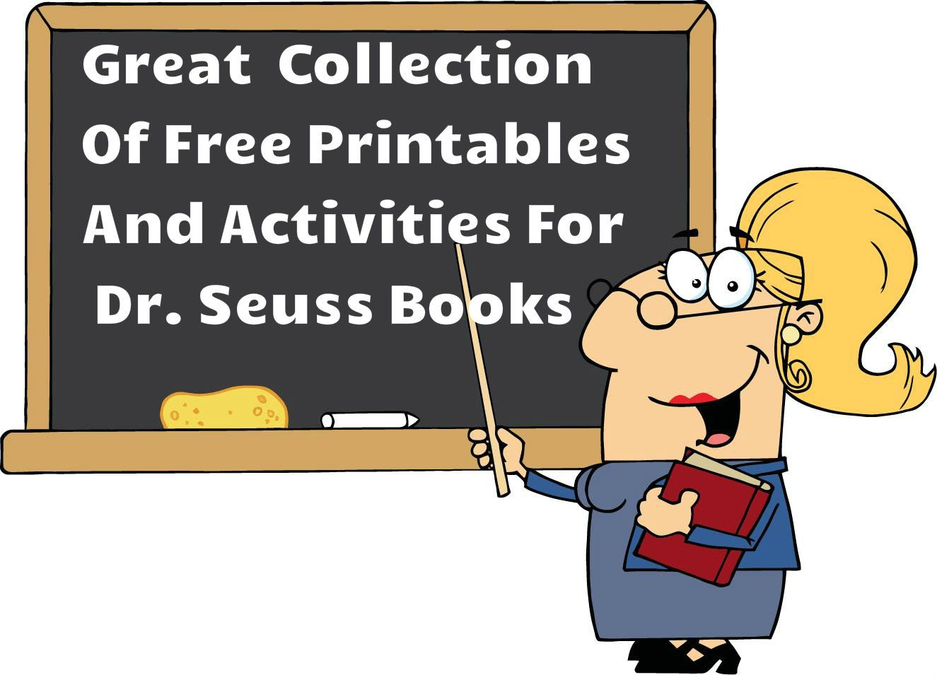 Activities For Dr Seuss Books With Images