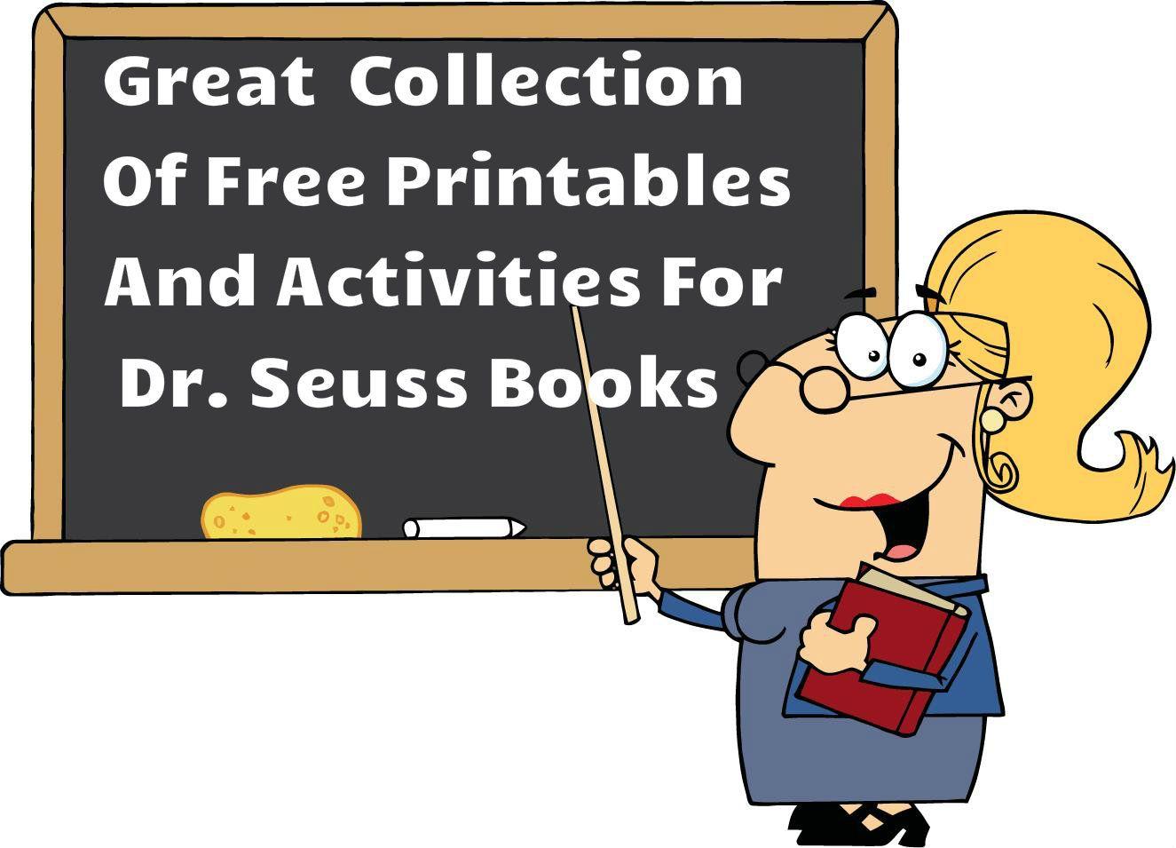 Activities For Dr Seuss Books