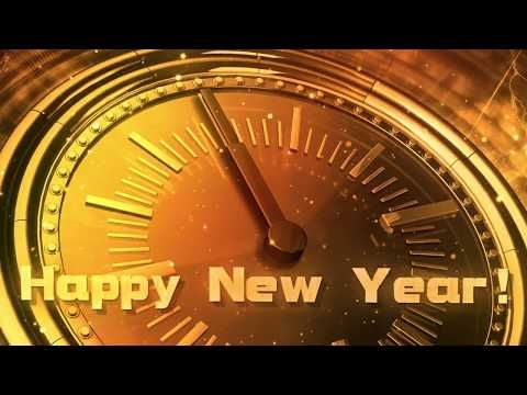Happy New Year CLOCK 2018 ( v 473 ) Original Countdown Timer with