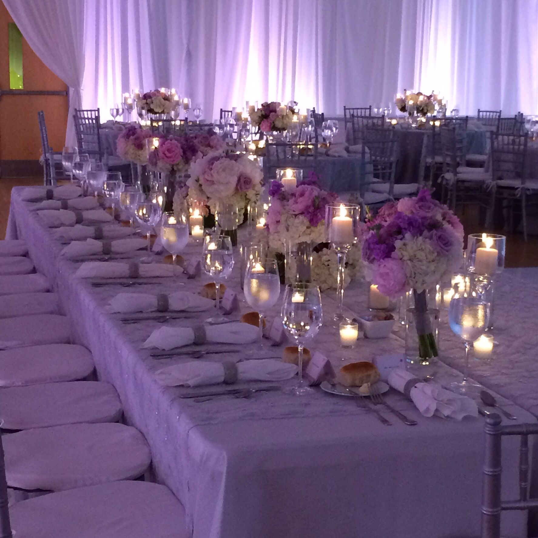 Pale Pinks And Purples In The Special Events Hall #Phipps