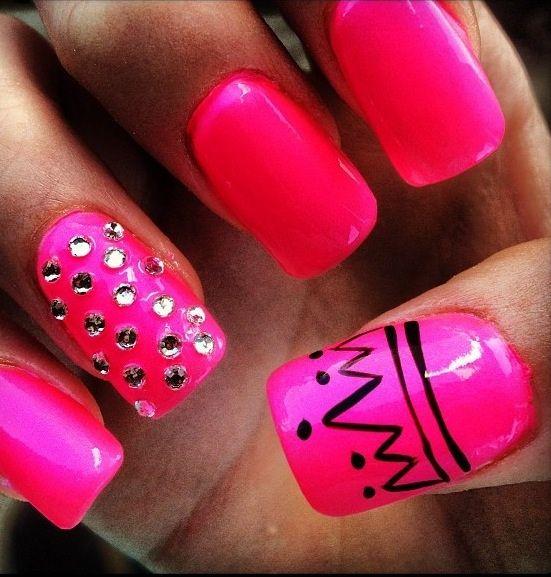 The 25+ best Princess nail designs ideas on Pinterest ...