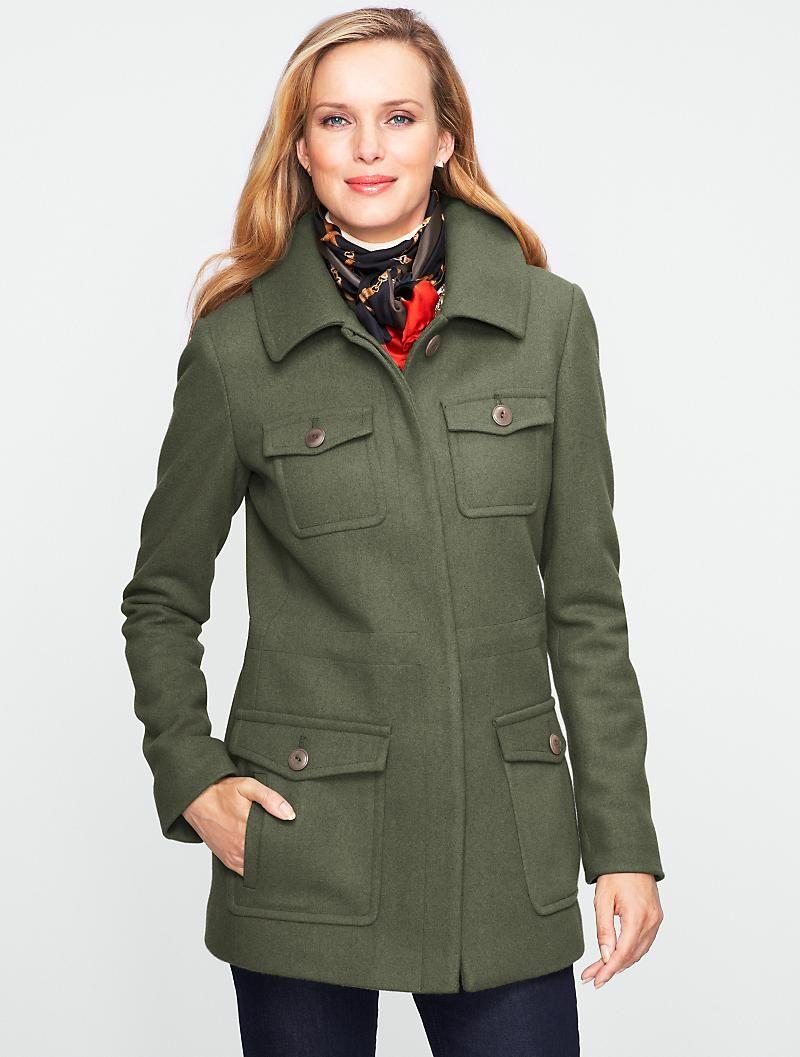 Talbots Utility Jacket New Arrivals Misses Outerwear Women Clothes For Women Clothes [ 1057 x 800 Pixel ]