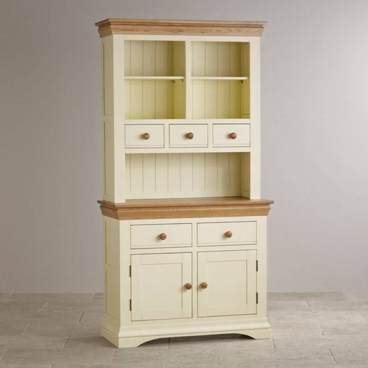 Country Cottage Natural Oak and Painted Small Dresser   Shops ...