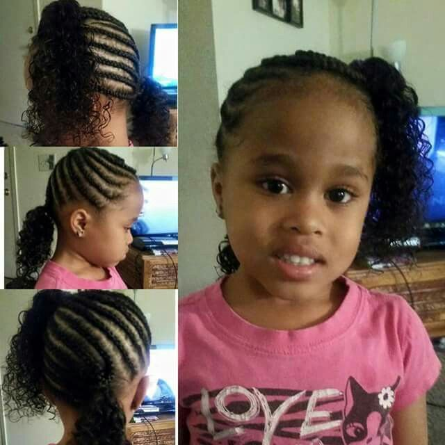 Mixed Dominican Toddler Girl Braids Curls Sideponytales Hair Natural Naturalhair Hairbycrowns Natural Hair Styles Healthy Hair Ponytale