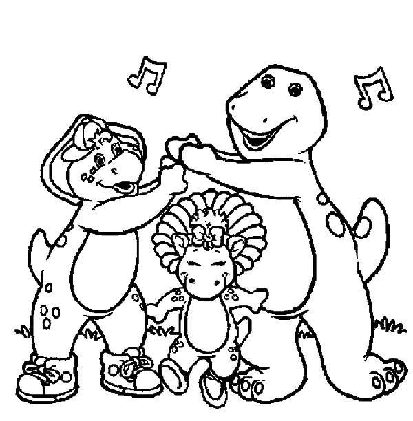 Lets Have Some Fun With Barney And Friends Coloring Pages Best Place To Color Coloring Pages Cartoon Coloring Pages Barney Friends