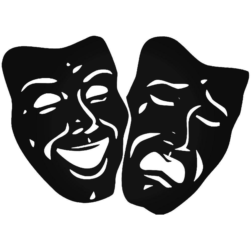 картинки маски комедия модель свое время
