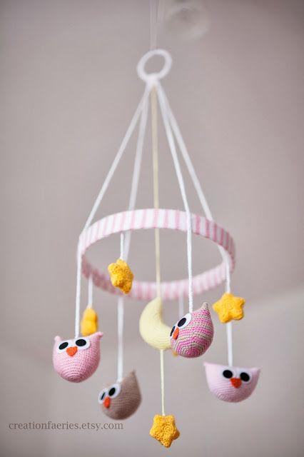Amigurumi Owl Mobile - FREE Crochet Pattern / Tutorial | Baby ...
