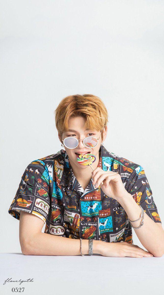 Wanna One Kang Daniel X Kissing Heart Wallpaper #kangdaniel