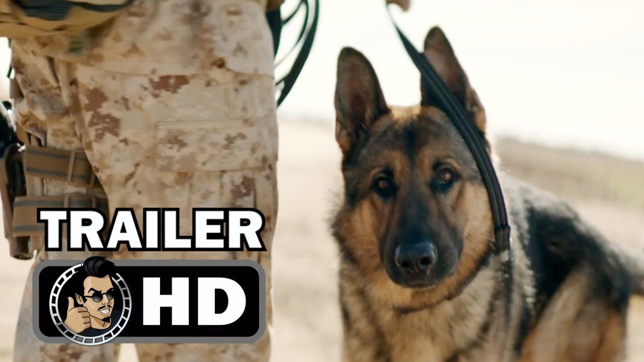 Megan Leavey Official Trailer 2017 Kate Mara Military Dog Movie