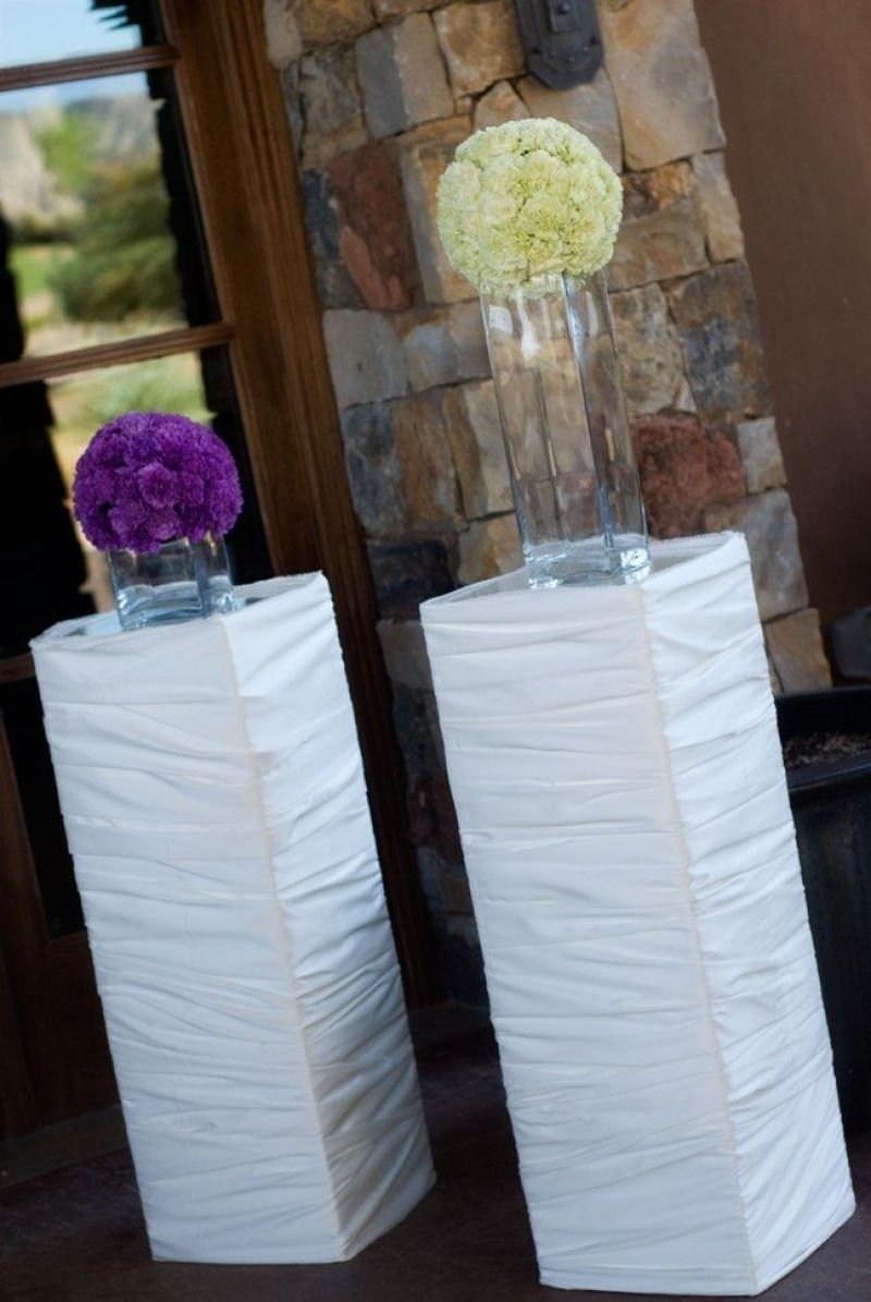 Gorgeous Diy Wedding Pillars  love wedding  Pinterest  Wedding