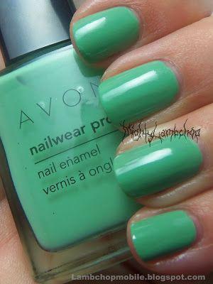 Avon Nailwear Pro Jade swatch