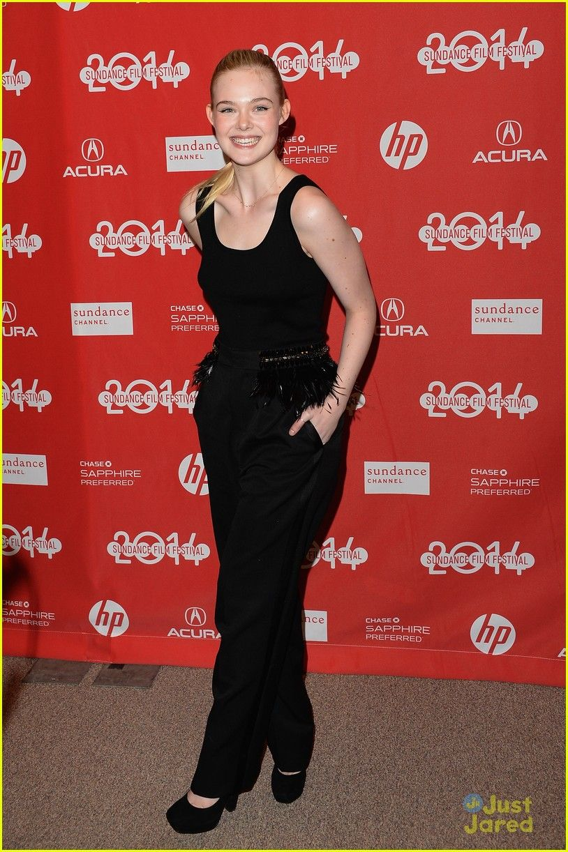 Elle Fanning at Sundance Film Festival 2014
