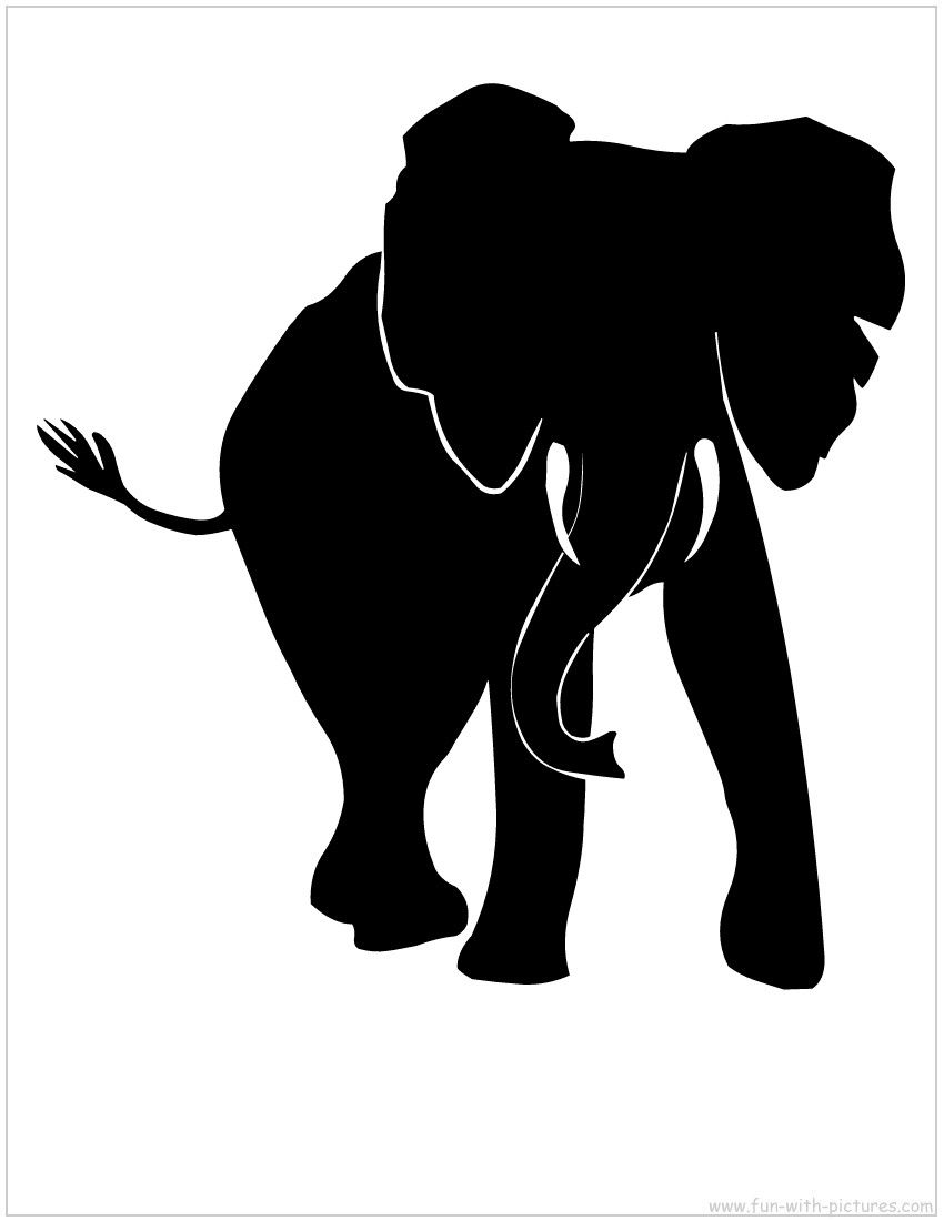african animal silhouettes clipart best clipart best [ 850 x 1100 Pixel ]