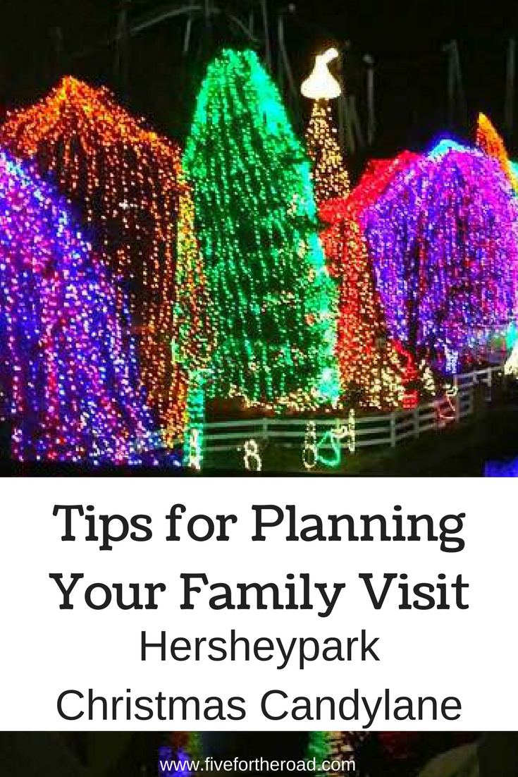 tips for planning your family visit to hersheypark for their holiday christmas candyland event christmasactivities hersheypark herhseypa familytravel