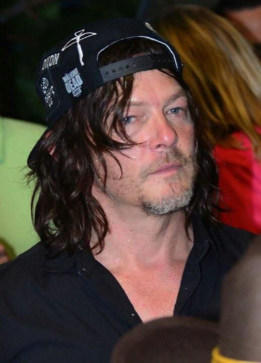 A tired Norman Reedus