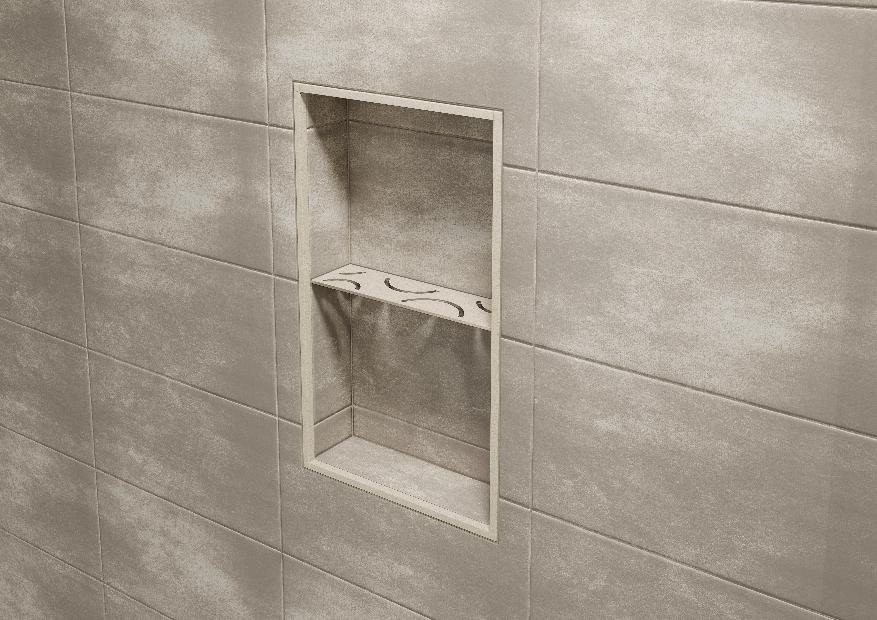 Schluter Shelf N S1 Shower Niche Tile Installation Recessed Storage