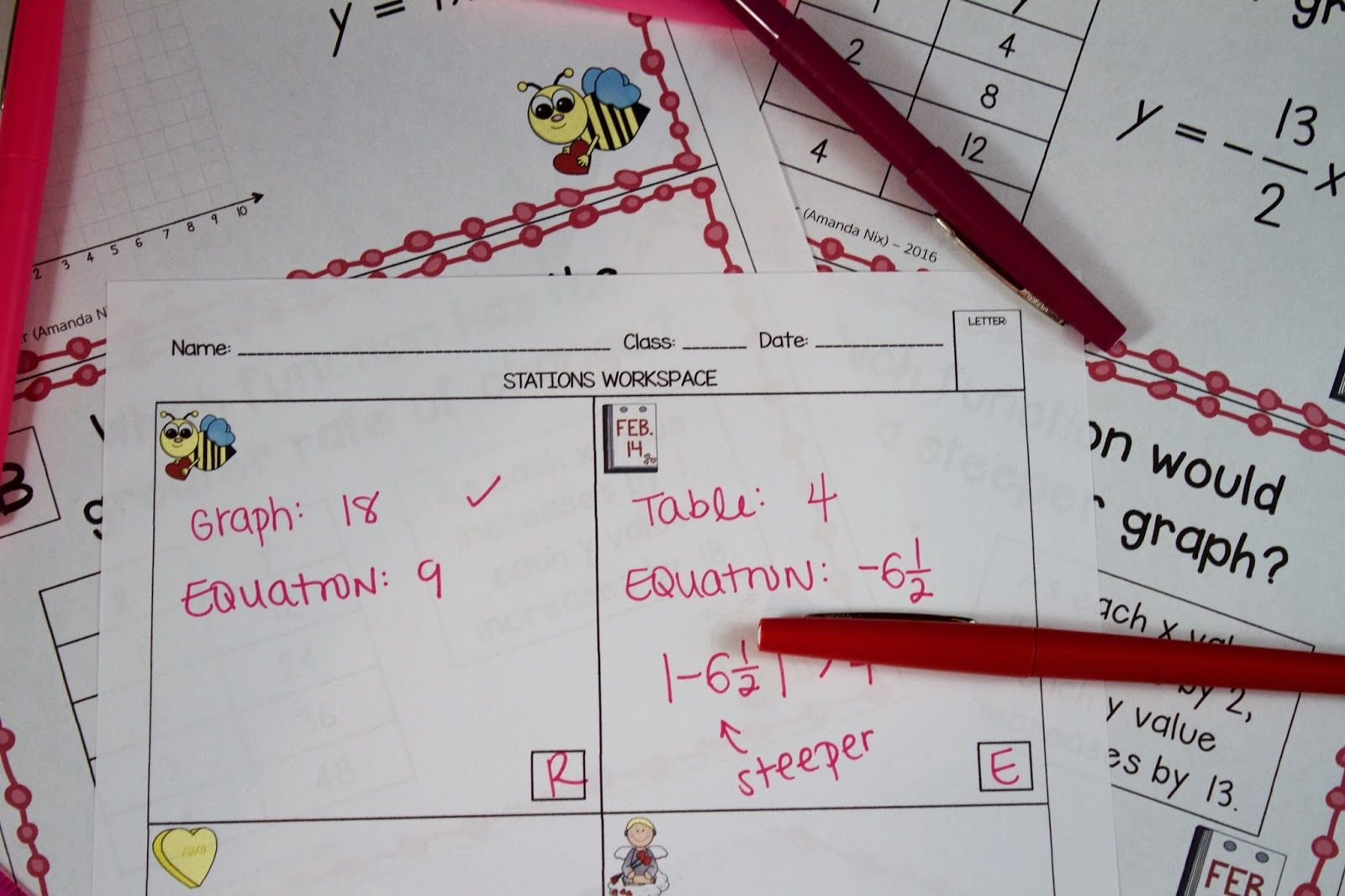 Valentine S Day In Math Class