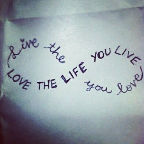 Infinity Quotes Love & Live I Want This  Body Art  Pinterest  Tattoo Tatting And .