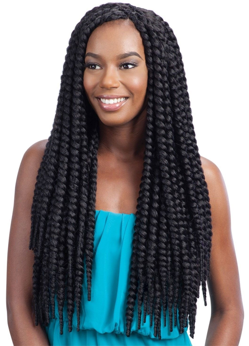 Details about Model Model 2X Natural Jumbo Twist Braid