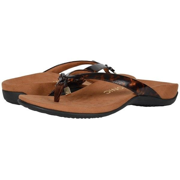 a7b5e0651576 VIONIC Bella II (Tortoise) Women s Sandals ( 75) ❤ liked on Polyvore  featuring shoes
