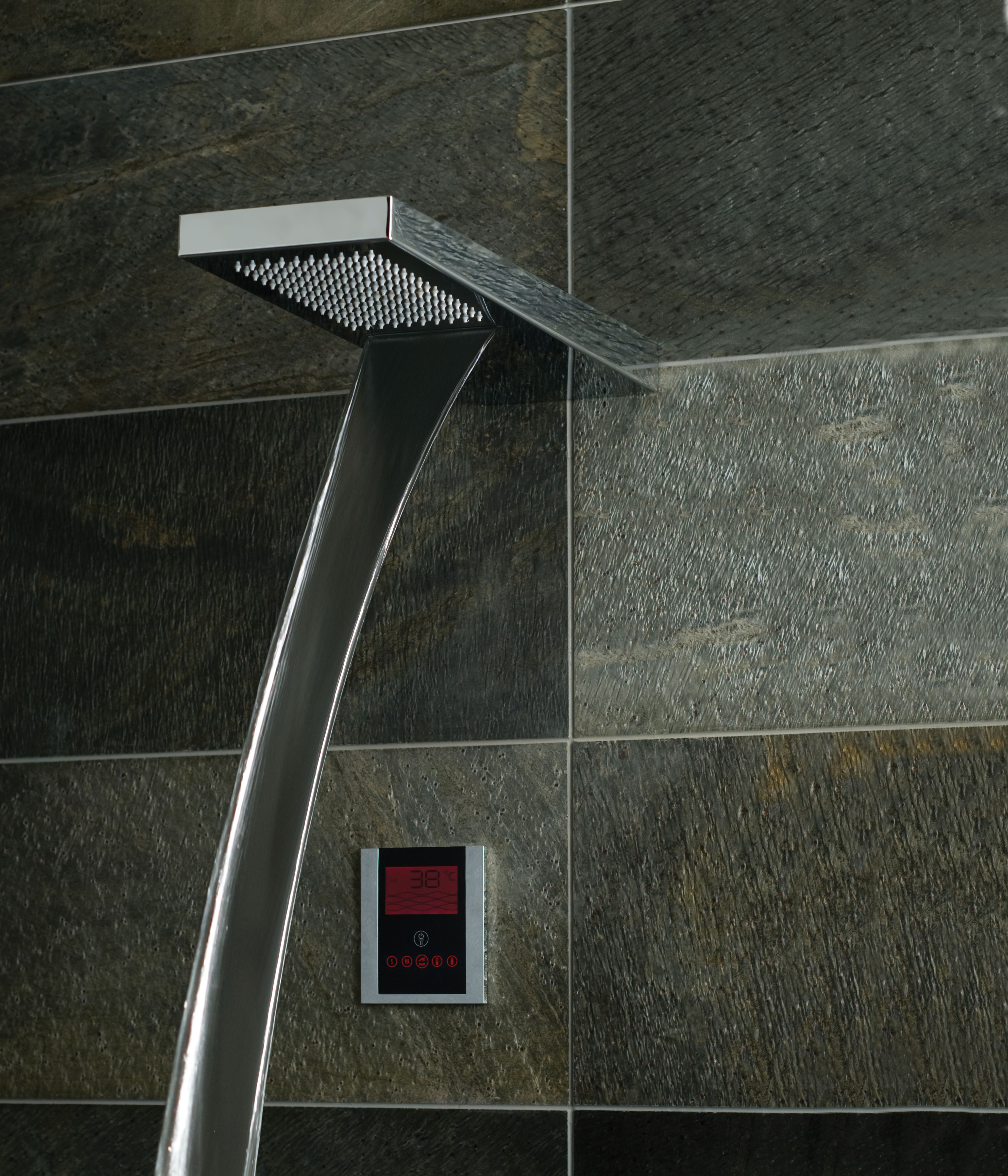 The VADO Identity digital shower and INGOT shower head, available ...