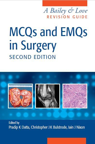 mcqs and emqs in surgery 2nd edition mebooksfree pinterest