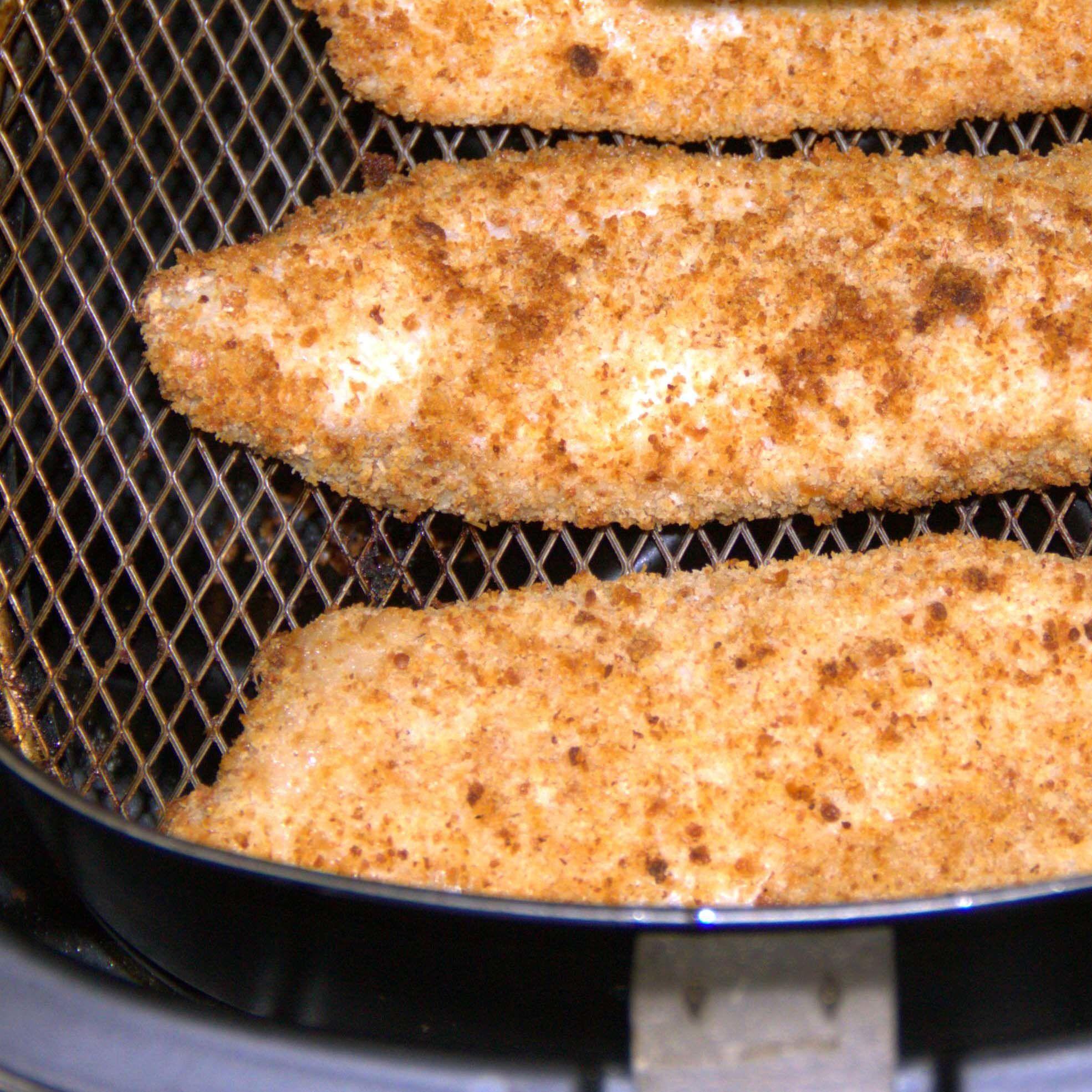 Air Fried Crumbed Fish Recipe Air fryer fish recipes