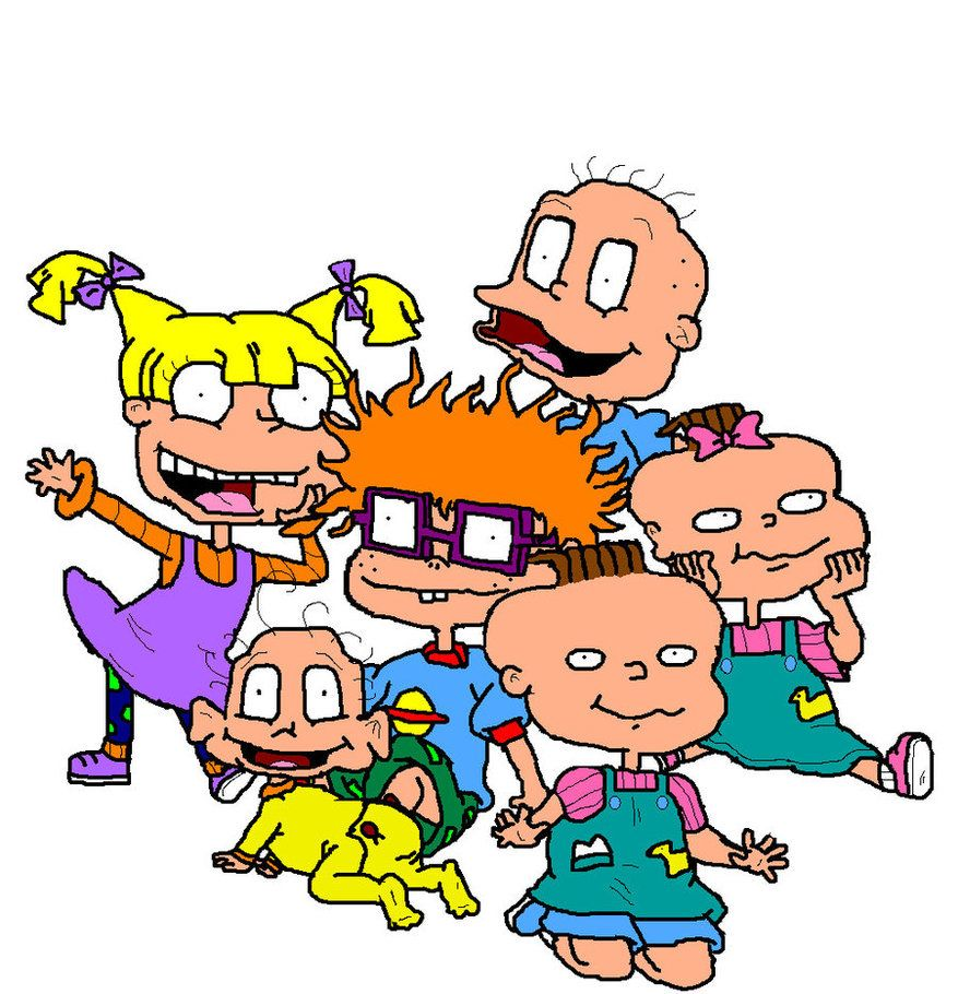 Rugrats Characters By ~ILikeTrains21