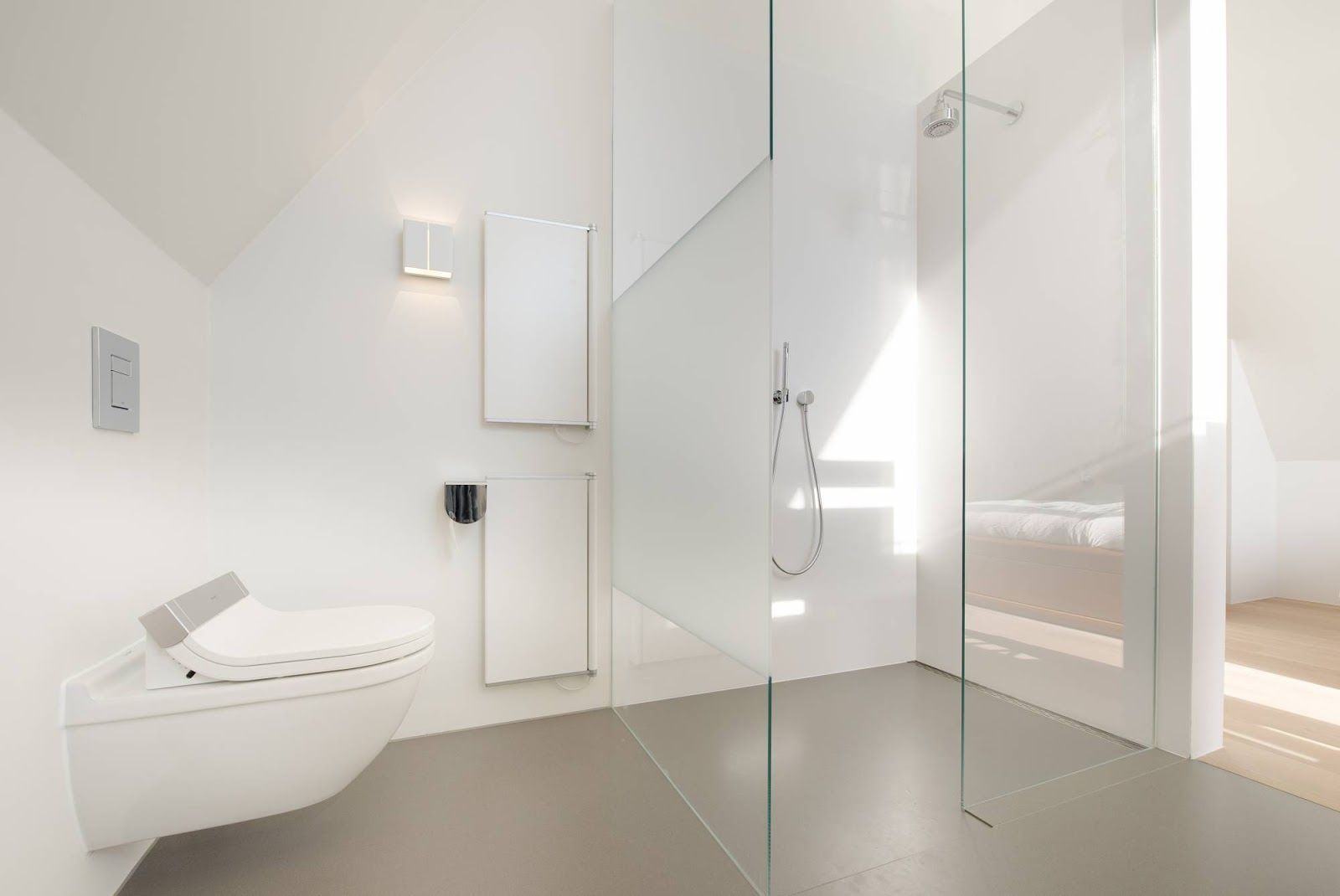 Douche wand met werkje google zoeken badkamer