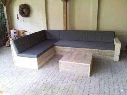 ecksofa lounge sofa gartentisch tisch gartensofa gerustholz in nordrhein westfalen. Black Bedroom Furniture Sets. Home Design Ideas