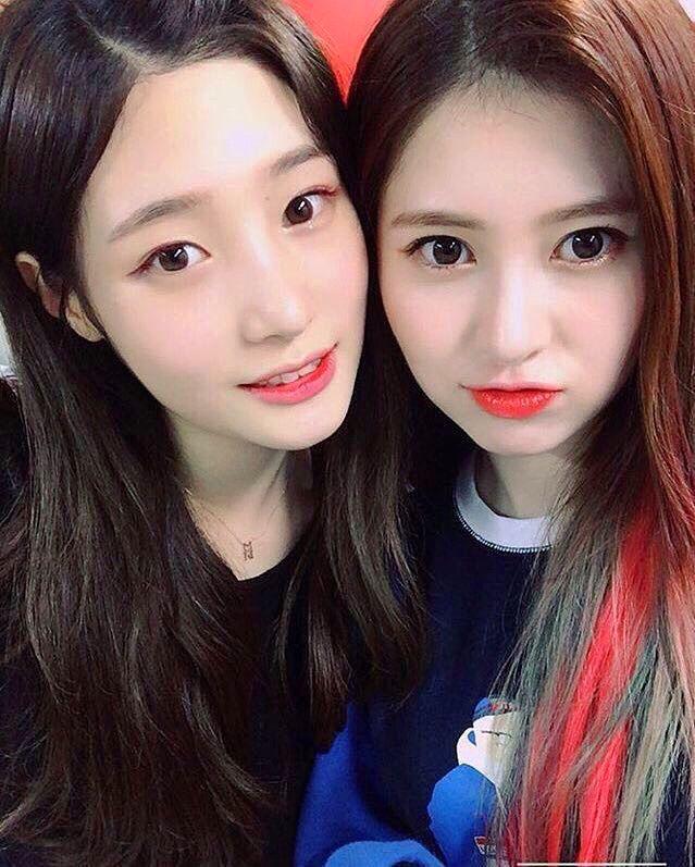 Chaeyeon and Yebin