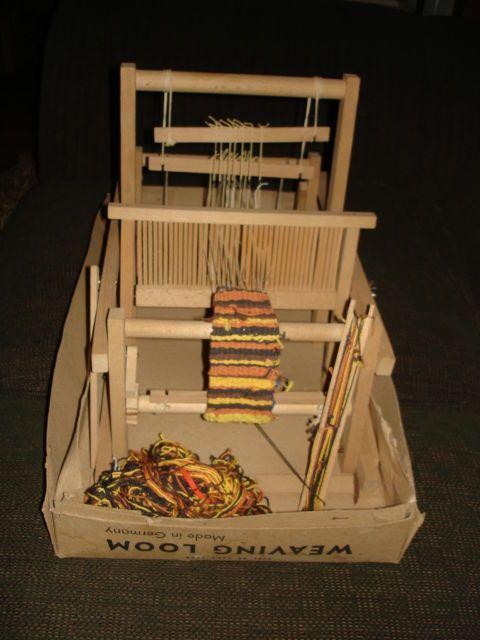 Excellant vintage old mabu loom wood table top weaving loom made excellant vintage old mabu loom wood table top weaving loom made in germany fandeluxe Images