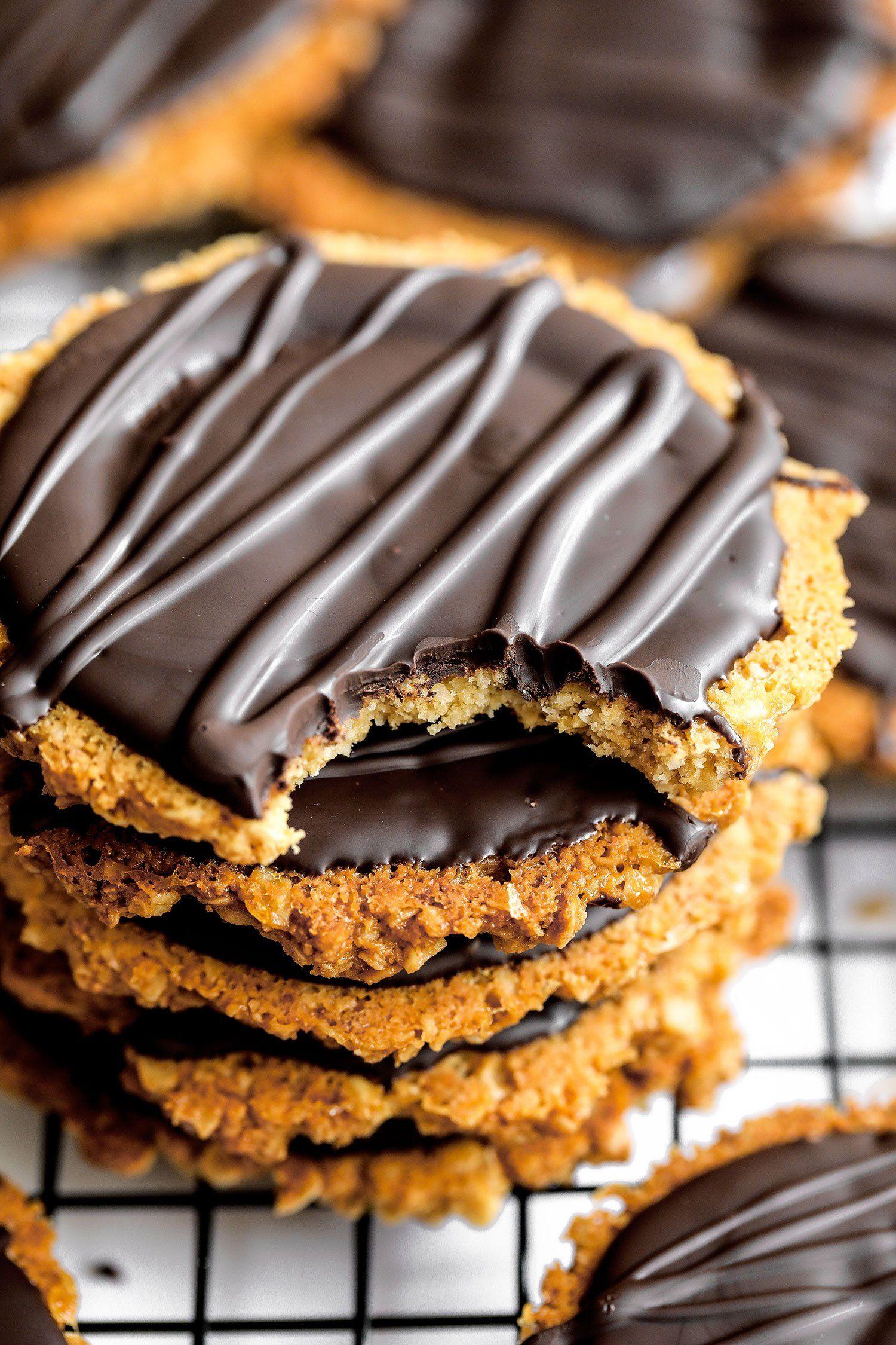 Homemade Chocolate Hobnobs Vegan Gluten Free Recipe British