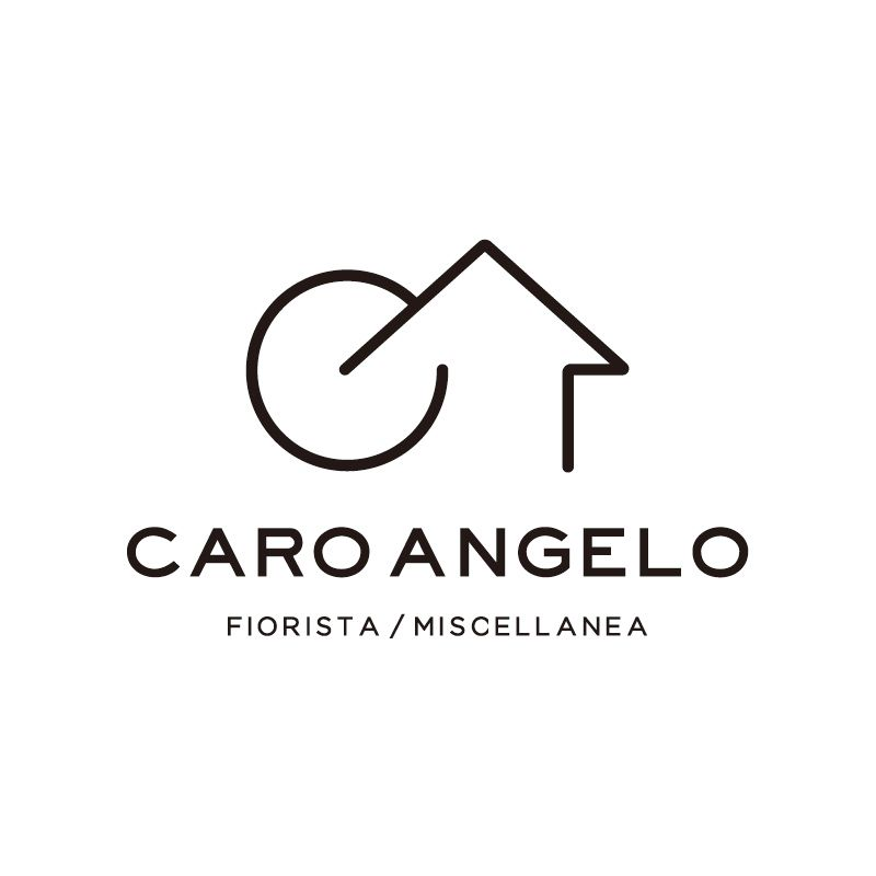 Muni Logo Caro Angelo様ロゴマーク フラワー グリーン 雑貨 洋服 Cと