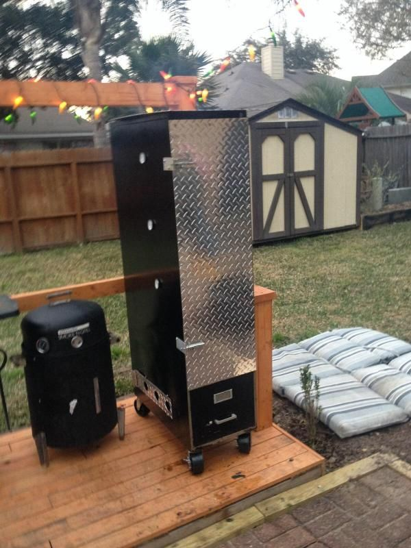 File Cabinet Smoker - TexasBowhunter.com Community Discussion ...
