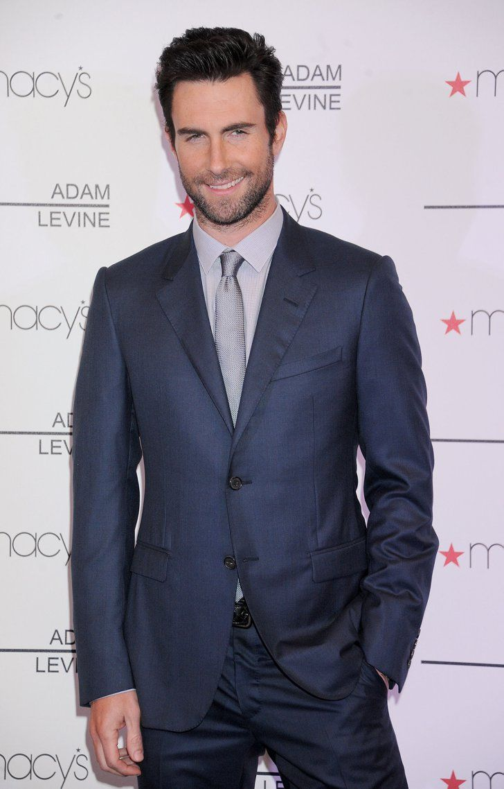 When He Looked Studly In A Suit With Images Adam Levine Suits