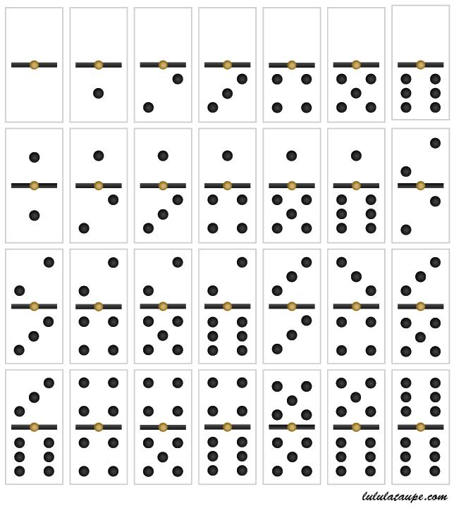 Top Jeu de dominos à imprimer | jeux | Pinterest | Jeux de, Jeu et  FD62