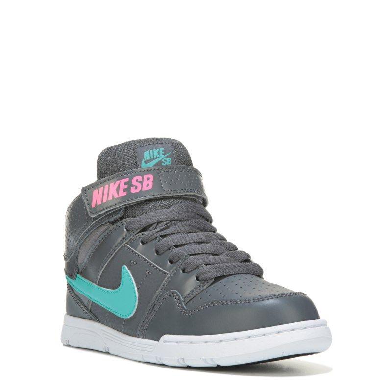 Nike Kid s Nike SB Mogan Mid 2 Skate Shoe Pre Grade School Shoes (Grey 94cc19a59d