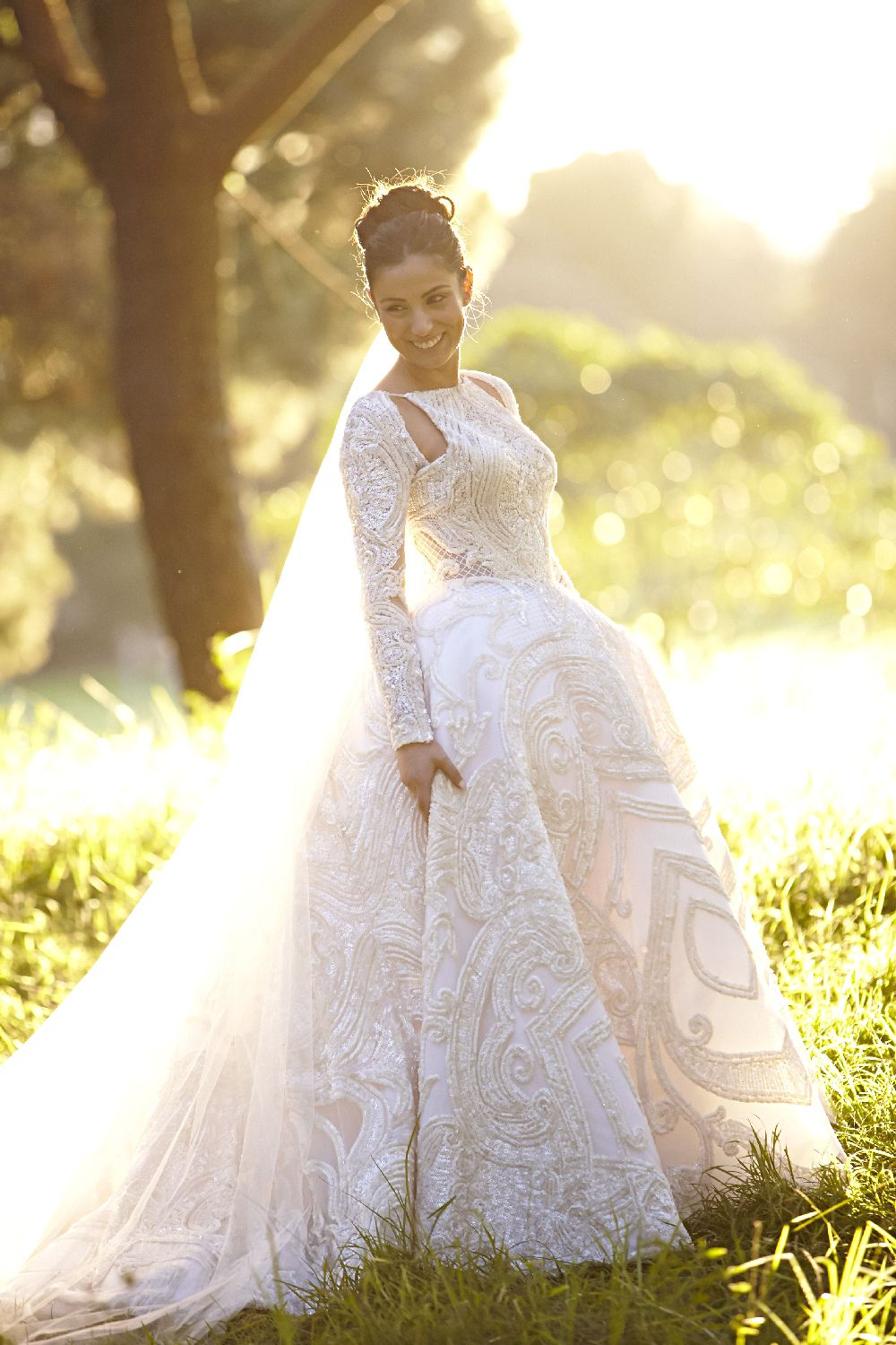 Timeless wedding dresses  JuAton wedding dress for an elegantclassic and timeless wedding in