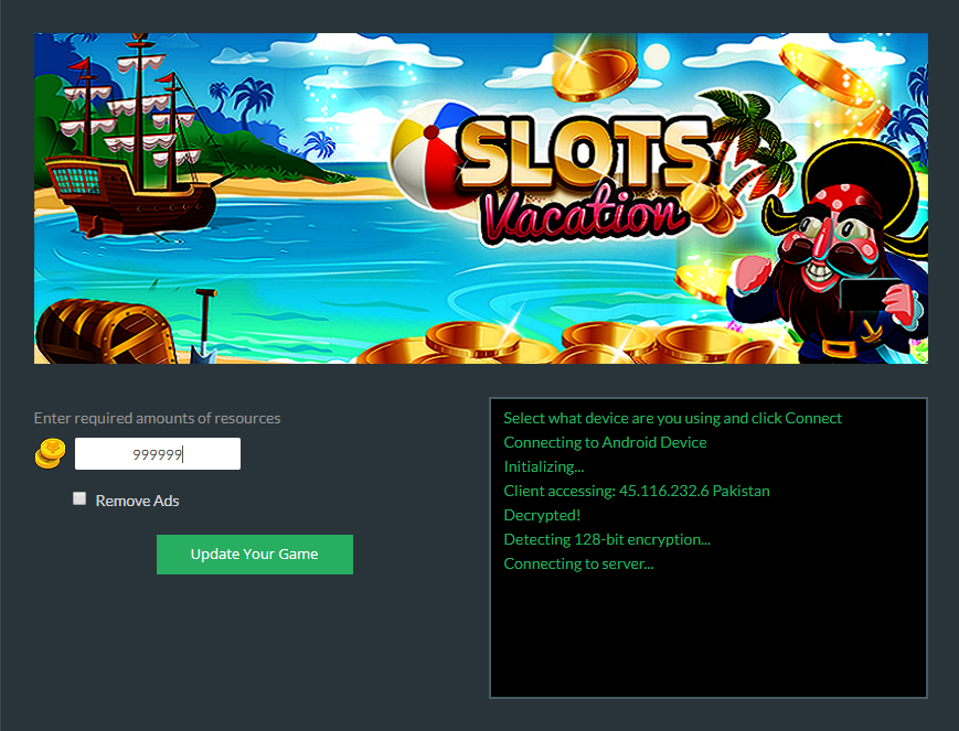 Slots Vacation Mod Apk