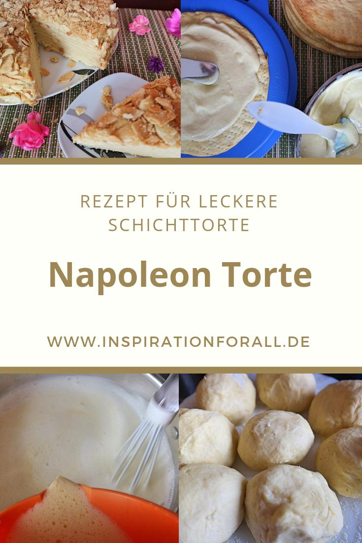 Napoleon Torte Rezept Fur Beliebten Russischen Kuchen Rezept Napoleon Torte Rezepte Und Lecker