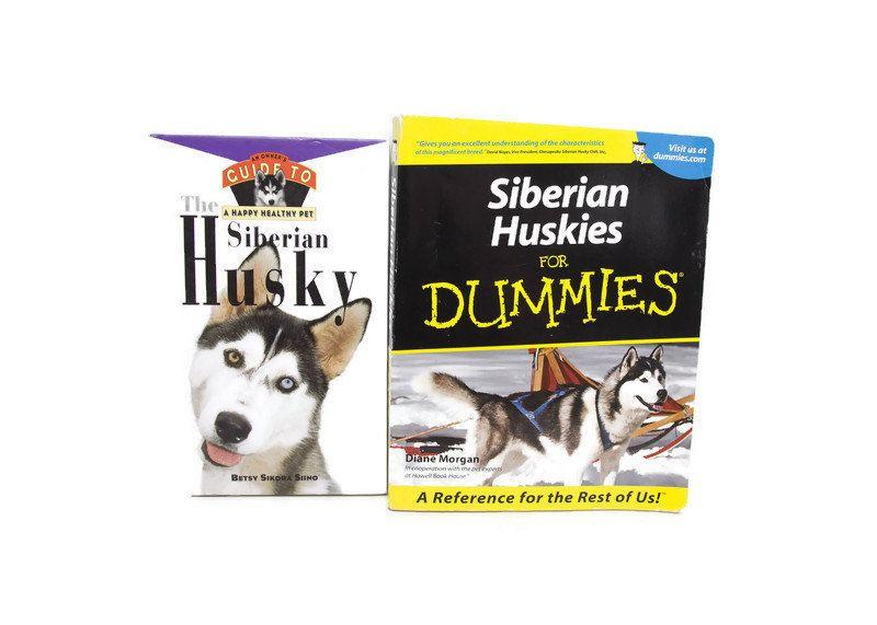 Vintage Siberian Husky Books Siberian Huskies For Dummies Owners