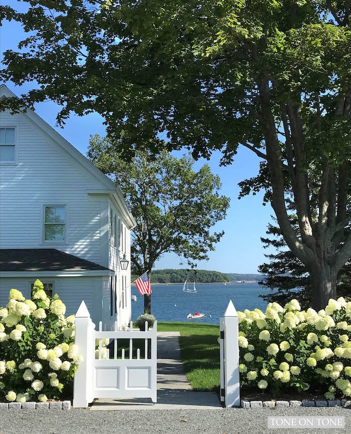 Maine Cottage Home Tour Tone On Tone In 2020 Maine Cottage Maine House Cottage Homes