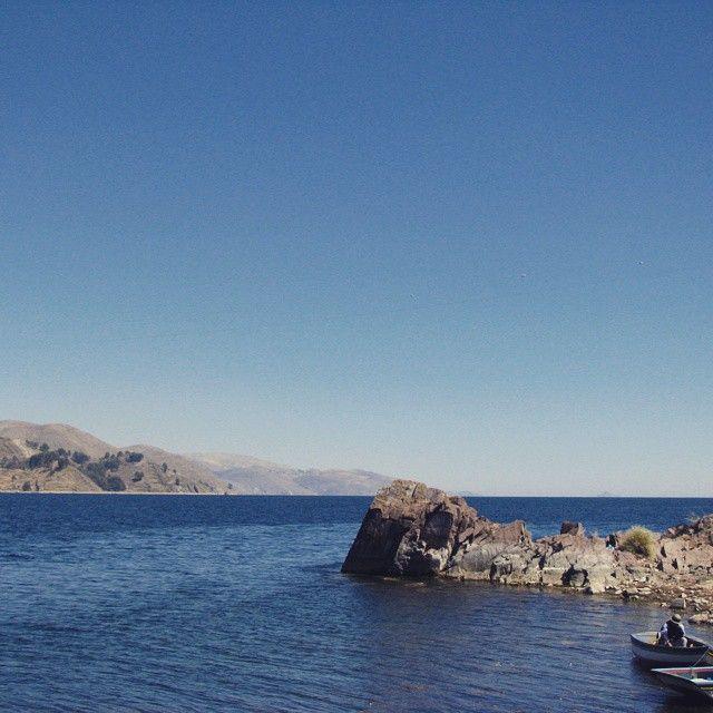 #laketiticaca #copacabana #nothingbutblueskies #lagotiticaca #lapaz #ship #andes #travel #turismo #viajar #Bolivia #explorebolivia