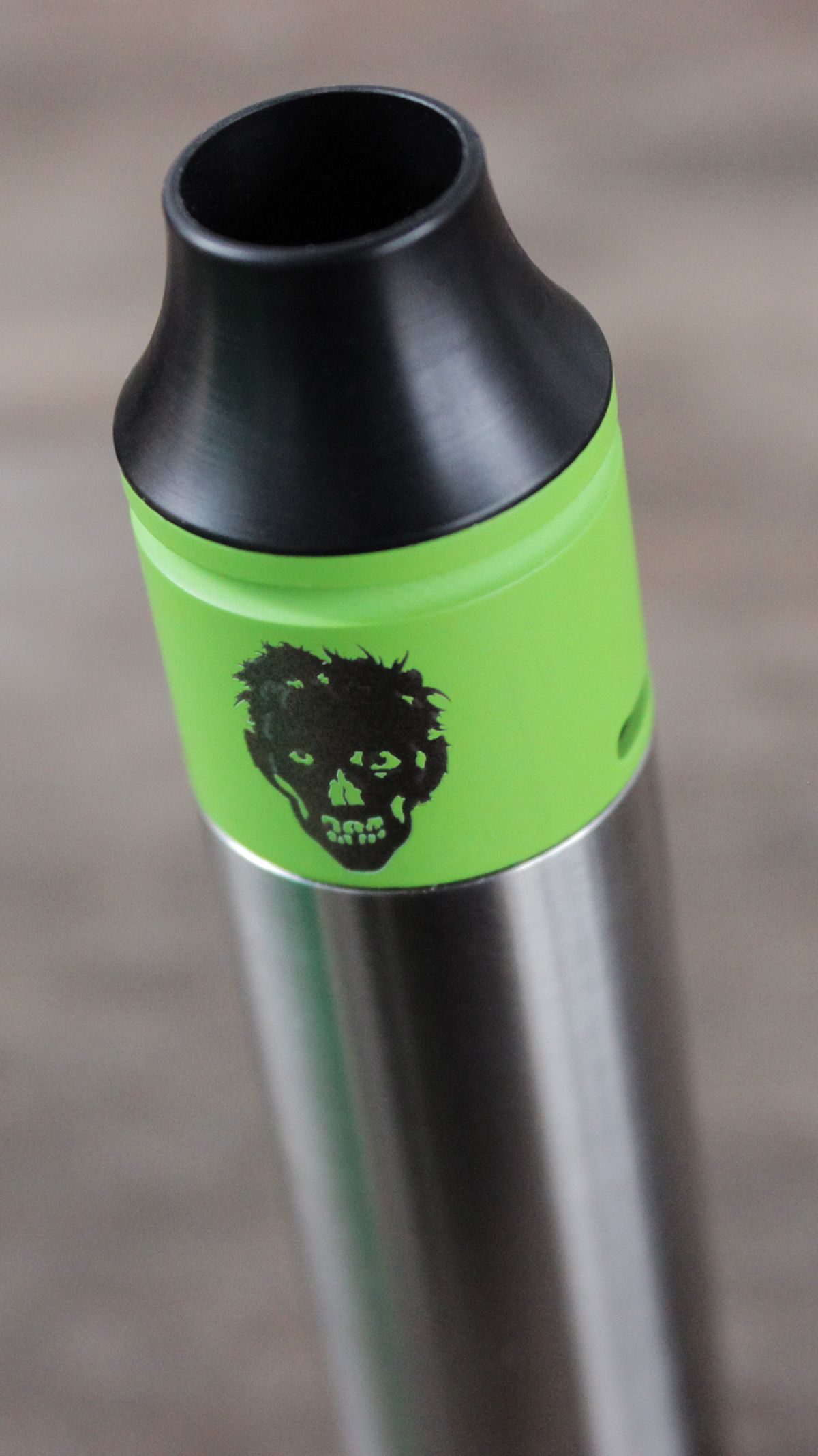 Freakshow Mini Undead Rda Zombie Redbuildable Atomizer Goon Styled 22mm Rebuildable Dripping Black Worldwide Shipping