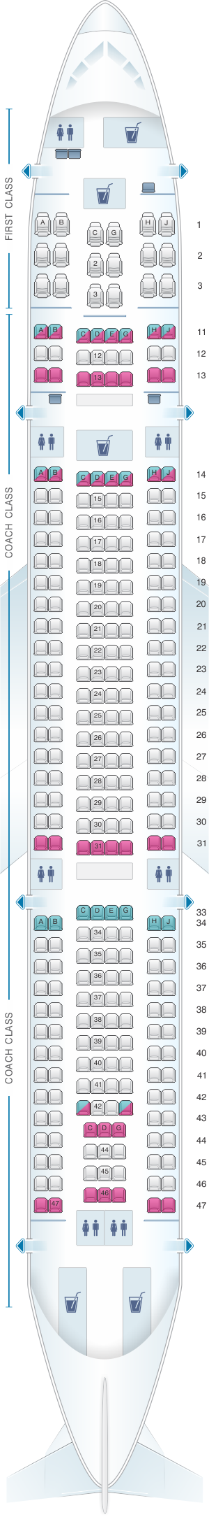 Turkish Airlines Seating Chart A330 Brokeasshome Com