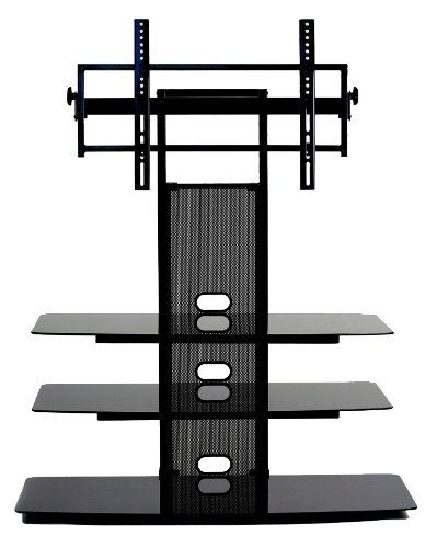 Transdeco Tv Stand With Universal Mounting System For 35 To 65inch Ledlcd Tv See This Great Product This Is Plasma Tv Stands Tv Stand Tv Stand With Mount