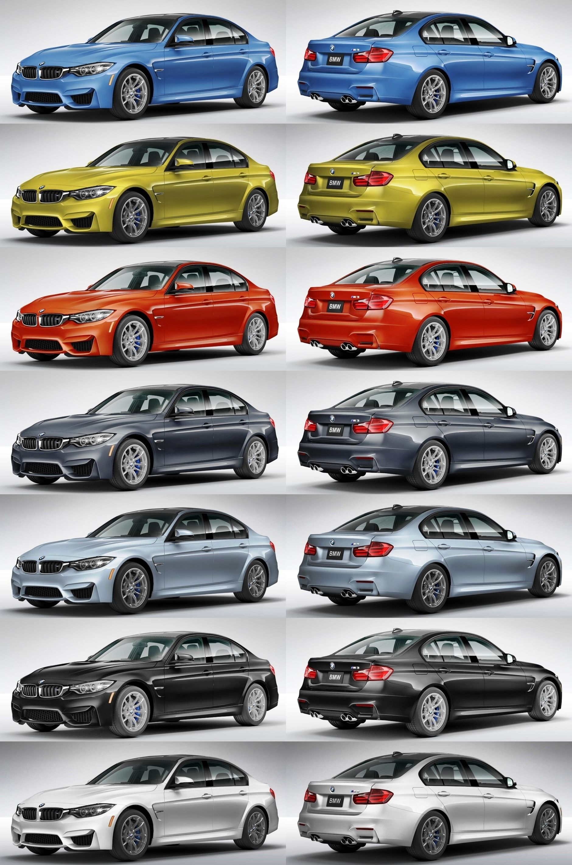 2015 BMW M3 - Configurator Buyers Guide to Options, Colors, Wheels